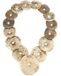 Ralph Lauren - Antiqued Brass Necklace - Lyst