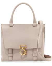 Derek Lam - Mini Ave A Leather Satchel Bag - Lyst