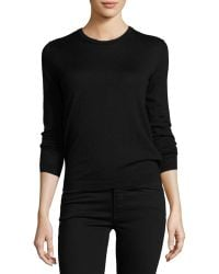 Pink Pony - Long-sleeve Cashmere Crewneck Sweater - Lyst