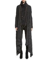 Urban Zen - Leather Prayer Beads Necklace - Lyst