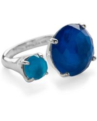 Ippolita 925 Wonderland Duo Open Ring in Island 03Jc3nrd