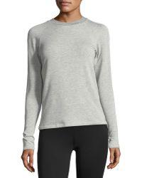 Heroine Sport - Racing Long-sleeve Fitted Sweatshirt - Lyst