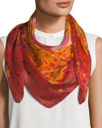 Mila & Such - Calypso Large Silk Scarf - Lyst