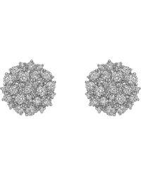 "Paul Morelli - Diamond ""confetti"" Circle Stud Earrings - Lyst"