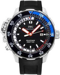 Iwc - Aquatimer Deep Two Steel - Lyst