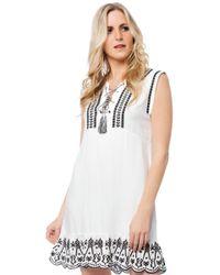 BB Dakota - Paige Embroider Dress - Lyst