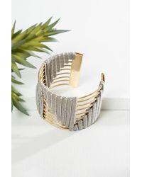 bevello - Geo Shape Bracelet - Lyst