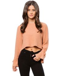 Julie Billiart - Pearl Tie Wrist Sweater - Lyst