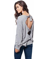 Julie Billiart - Open Tie Back Sweater - Lyst