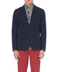 Paul Smith Single-Breasted Cotton Jacket - For Men - Lyst