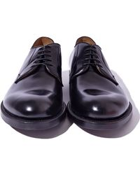 Raf Simons Mens Classic Leather Derby Shoes - Lyst