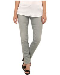 Armani Jeans Slim Fit Cropped Pants - Lyst