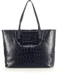 Marc By Marc Jacobs Metropolitote Crocodile-Embossed Tote - Lyst