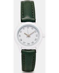 Asos Clean Midi Dial Watch - Lyst