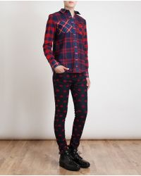 American Retro Kurt Cotton Checked Shirt - Lyst