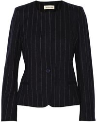 Etoile Isabel Marant Hudson Wool Blend Blazer - Lyst