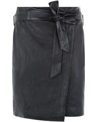 Reiss Merron Leather Skirt - Lyst