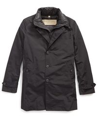 Burberry Brit - 'marksman' Raincoat - Lyst
