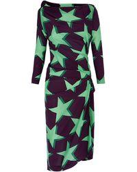 Vivienne Westwood Anglomania 3d Star Taxa Dress - Lyst