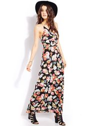 Forever 21 Vintage Sweet Maxi Dress - Lyst