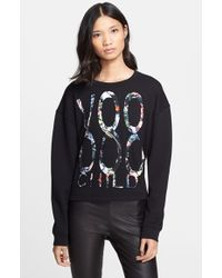 McQ by Alexander McQueen Women'S Voodoo Child Sweatshirt - Lyst