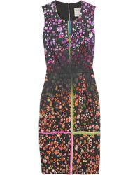 Preen Lia Floralprint Stretch Cottonblend Dress - Lyst