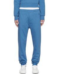 Acne Studios   Blue Johna Lounge Trousers   Lyst