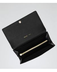 Reiss - Buckley Textured Leather Wallet - Lyst