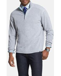 Tommy Bahama 'Double Identity' Original Fit Half Zip Pullover - Lyst