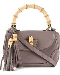 Gucci 'Bamboo' Shoulder Bag - Lyst