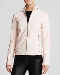 Sam Edelman - Jacket - Chloe Quilted Faux Leather - Lyst