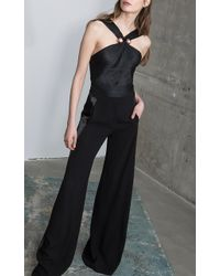 Maria Lucia Hohan | Lucille Halter Neck Body Suit | Lyst