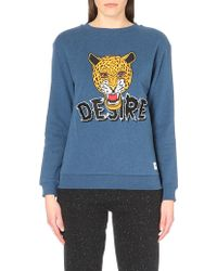 A Question Of - Desire Fitted Cotton-Jersey Sweatshirt - For Women - Lyst