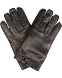 Valentino   Stud-Detail Leather Gloves   Lyst
