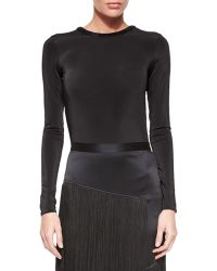 Tamara Mellon | Long-sleeve Backless Bodysuit | Lyst