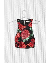 Nasty Gal Bad Seed Sequin Top - Lyst