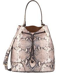 orange prada handbag - Prada Daino Mini Shoulder Bag in Black (nero) | Lyst