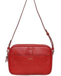 Giorgio Armani Weekend Textured Leather Shoulder Bag - Lyst