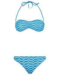 Missoni Mare Bandeau Bikini - Lyst