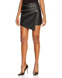 Oober Swank - Asymmetric Zip Skirt - Compare At $78 - Lyst
