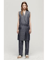 Rag & Bone Jackets & Coats blue - Lyst