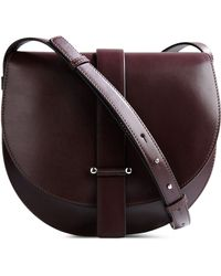 Jil Sander Medium Leather Bag - Lyst