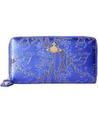 Vivienne Westwood - Metallic Zip-around Wallet - Lyst