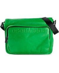 DSquared² Logo Messenger Bag - Lyst
