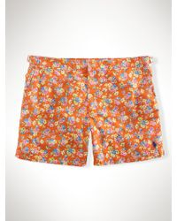 Polo Ralph Lauren Floral 5 Brent Swim Trunk - Lyst