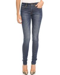 Victoria Beckham Super Skinny Jeans - Lyst