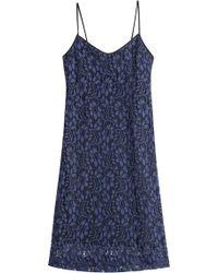 MSGM Lace Dress - Lyst