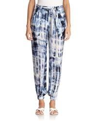 Ralph Lauren Black Label Adria Tie-Dye Pants - Lyst