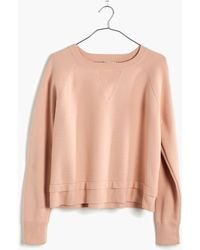 Madewell Soft-Tech Pullover Sweater - Lyst