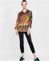 Pierre Louis Mascia - Aloeuw Silk Shirt - Lyst